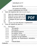 [Civil] 01.01 LINDB - Princípios, Vigência Da Lei
