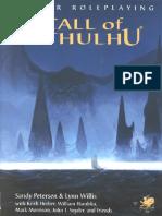 Call of Cthulhu Rulebook v5.6