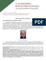 El ecumenismo, trampa mortal para la Iglesia. Primera parte..pdf