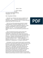 US Department of Justice Civil Rights Division - Letter - tal476