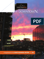 2016 Downtown Boise Association's State of Downtown