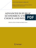 Ulrich Schmidt, Stefan Traub-Advances in Public Economics_ Utility, Choice and Welfare_ a Festschrift for Christian Seidl (Theory and Decision Library C) (2005)