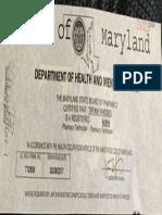 pharmacy tech license