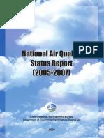 DENR Nat'l Air Quality Status Report FA