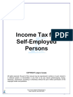Income Tax for Self-Employed