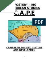 Caribbean Studies- Past Papers (1)