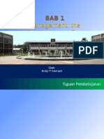 Bab 1 Management, The Controller, And Cost Accounting