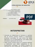 Elementos Elementos de interpretacion de la leyde Interpretacion de La Ley