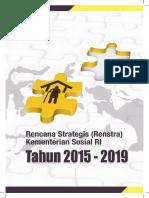 Renstra Kementerian Sosial 2015 2019
