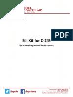 Bill C-246 Kit - Abridged