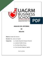 Analisis Del Pais BOLIVIA