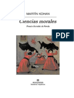Kohan · Ciencias Morales
