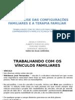 A Psicanálise Das Configurações Familiares e a Terapia