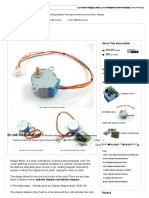Datasheet BYJ48 Stepper Motor - All
