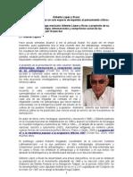 Entrevista a Gilberto López y Rivas