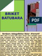 Briket Batubara Power Point