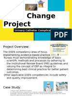 qsen project urinary catheter complications