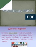 Magnitudes en física