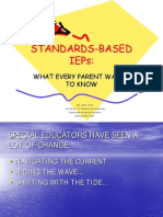 STANDARDS-BASED IEPs SEPACcredit
