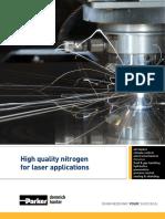 Parker Nitrogen for Laser Applications Msb