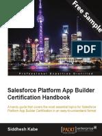 Salesforce Platform App Builder Certification Handbook - Sample Chapter