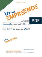 12 Plano de Negocios UFG Empreende