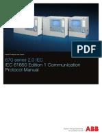 1MRK511302-UEN - En Communication Protocol Manual IEC 61850 Edition 1 670 Series 2.0 IEC2