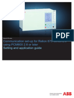 1MRK505332-UEN - En Communication Set-up for Relion 670-Series 2.0 Using PCM600 2.6 or Later