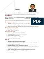 Vipin Krishnan CV