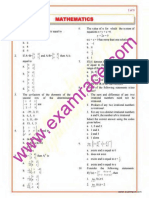 Mathematics Objective Questions Part 5