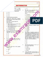 Mathematics Objective Questions Part 6