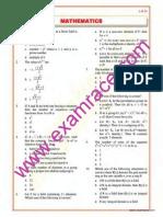 Mathematics Objective Questions Part 11
