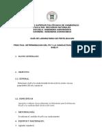 Guia de Practica Determinación de La Conductividad Eléctrica