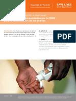 Guia de formulacion de limpieza de manos