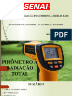Pirômetro à Radiação Total