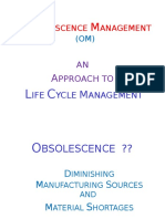Obsolesence Management Stratergies