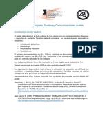 Recomendaciones Para Posters y Comunicaciones Orales