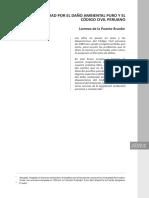 el daño ambiental en la legislacion peruana