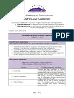 wdw program evaluation