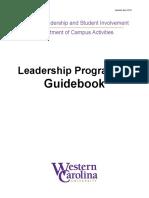 olsi leadership programming guidebook