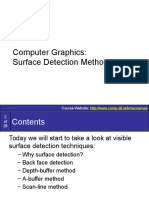 Graphics14-SurfaceDetectionMethods