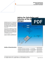 10 Advice for Calculation Selection of the Appropriate Damper