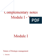 Complementary Notes