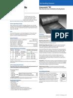 Acoustic Liner - Linacousticrc en Data Sheet