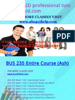 BUS 235 AID Professional Tutor Bus235aid.com