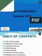 Project-presentation Sample Copy
