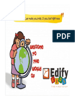 Edify Kids Franchise Presentation