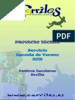 Proyecto Tenico Escuela de Verano 2012 JC