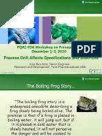 2010 TEVA Process Drift Ben-Anat