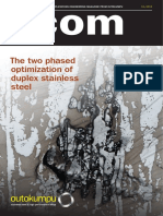 Outokumpu Corrosion Management News Acom 3 4 Edition 2013